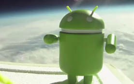 Google Android in Space