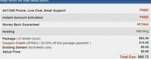 Hostgator Dec 2010 Discount