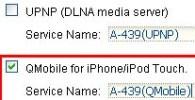 Configure NAS iPhone