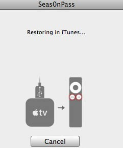 Restoring iTunes Jailbrooke Apple TV