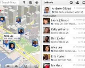 Check-In Google Latitude