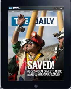 The Daily magazine ipad