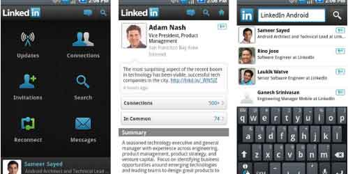 Linked In Android App