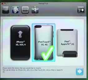 Pwnage Tool 4.3 jailbreaking