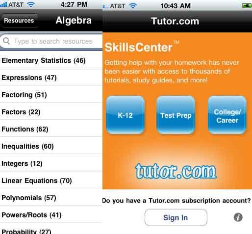 Tutor To Go iOS App Study