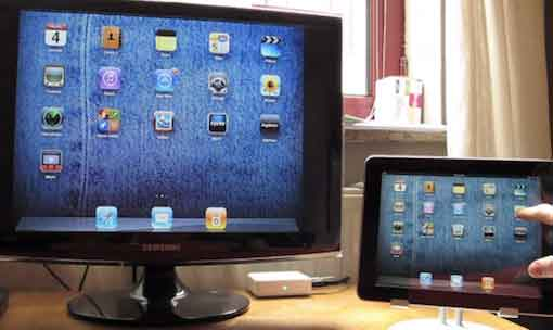 Enable Video Mirroring in iPad1