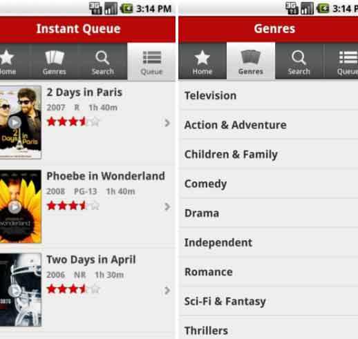 Installing Netflix on Android Phones