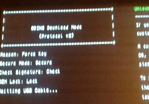Unlocking Samsung Galaxy Tab 10.1v