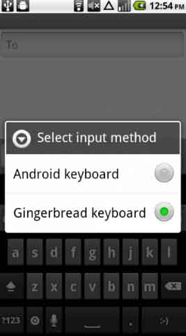 Gingerbread Keyboard Download