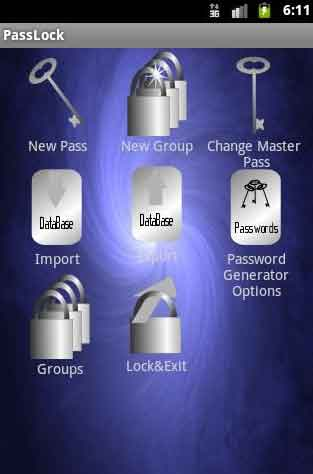 Password Manager for Android