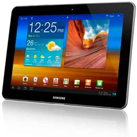 Galaxy Tab Released