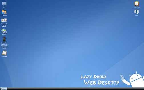 Lazydroid Android desktop