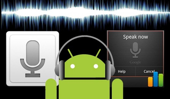 Gesture Speech Android Voice Recognize App
