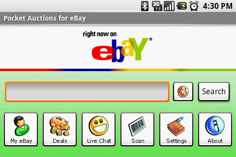 Pocket Auctions for eBay