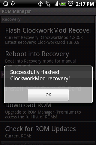 flash root