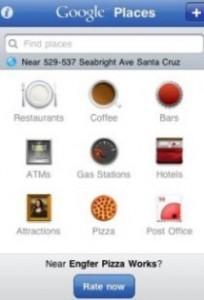 Google Places Hotpot