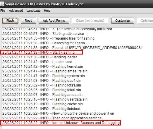 Xperia Bricked by FlashTool