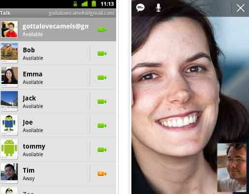 Google Talk Video Chat apk