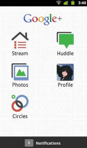Download Google Plus Project App