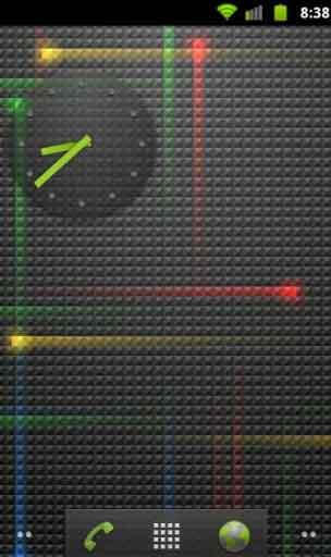 Android Transparent Analog Clock DeskClock