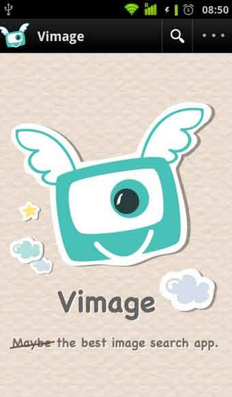 Image search Android app Vimage