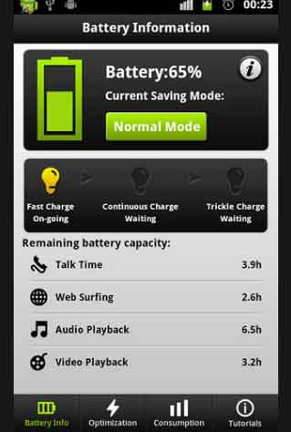 Android Easy Battery Saver