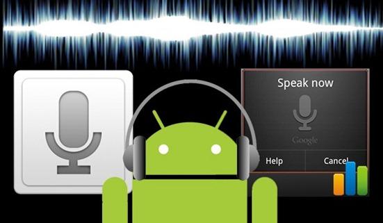 Gesture Speech Android Voice Recognize App