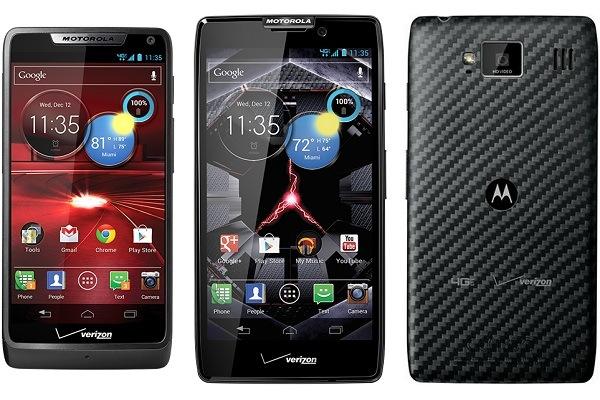 Droid Razor Smartphones